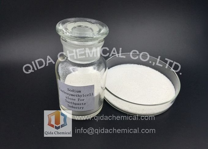 Van het de Cellulosenatrium van Carboxy van de tandpastaindustrie de Methyl Carboxymethyl Cellulose